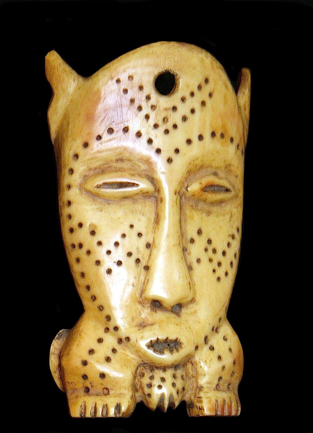 maschera passaporto Lega, Congo