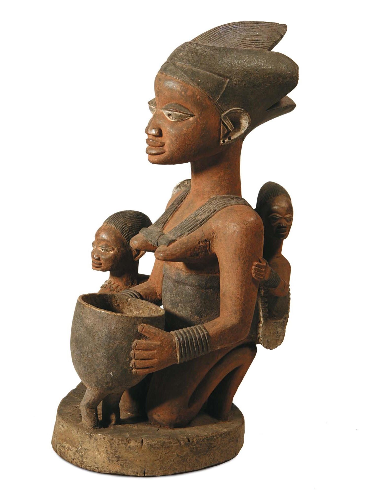 Maternità nell'arte africana, Kongo, Congo