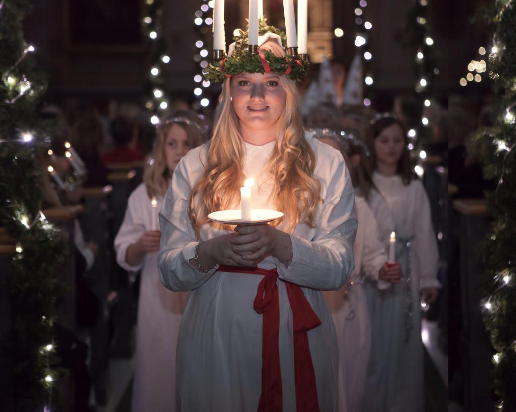 Santa Lucia in Scandinavia