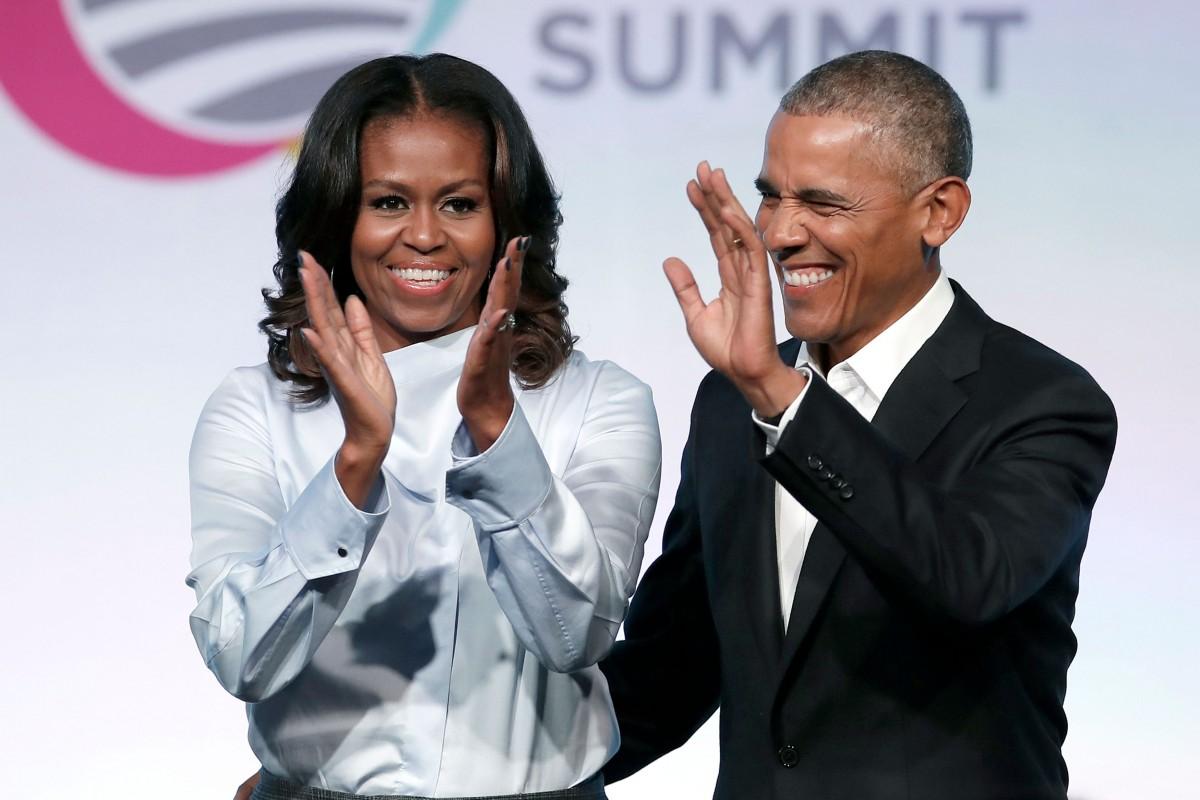Barcack e Michelle Obama