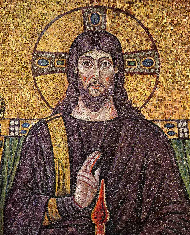 Il Cristo della chiesa di Sant'Apollinare Nuovo, Ravenna