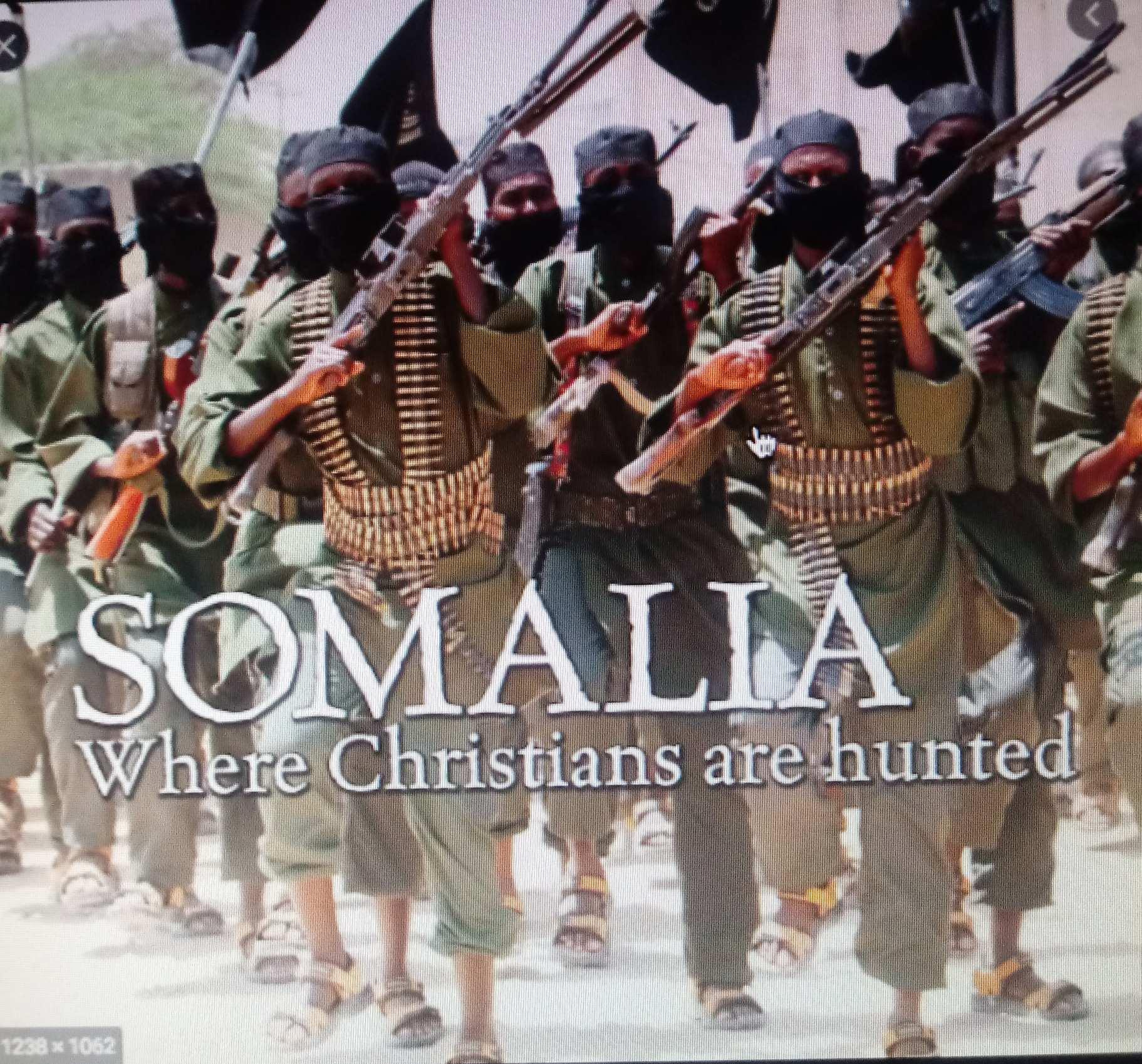 Somalia where christians are hunted