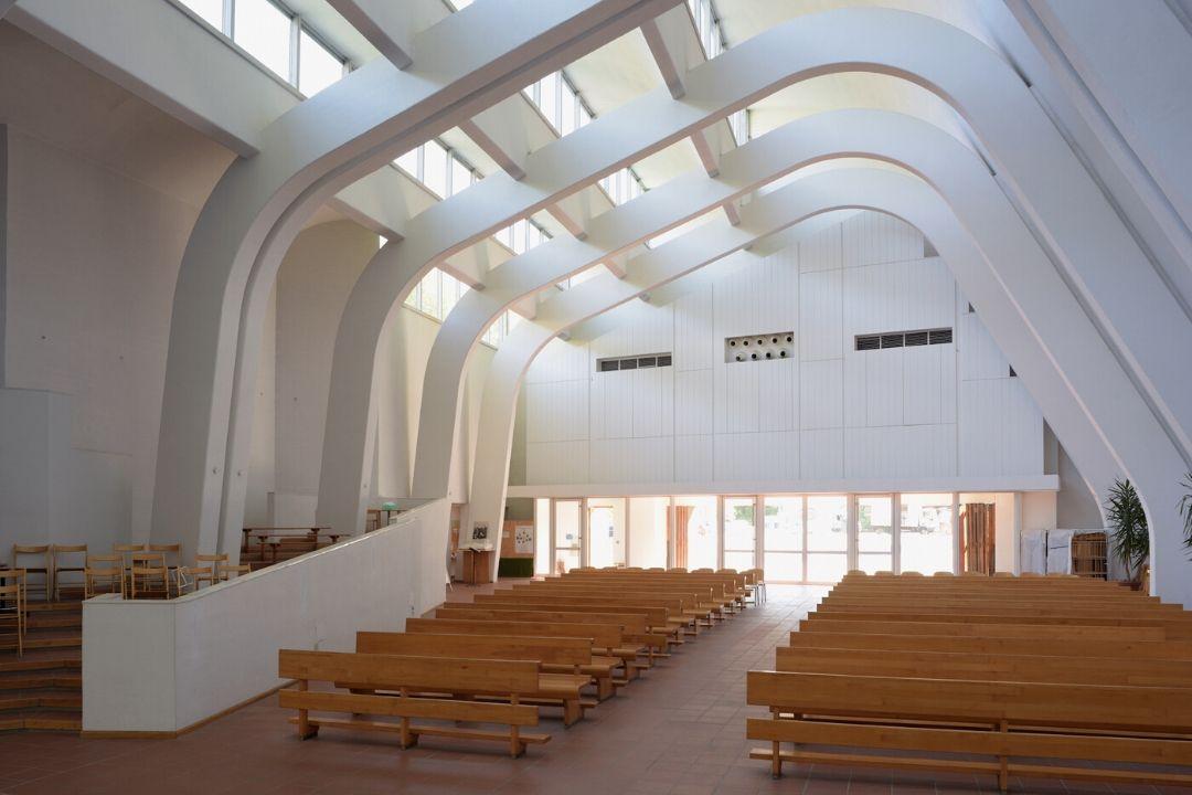 Aula del presbiterio della chiesa