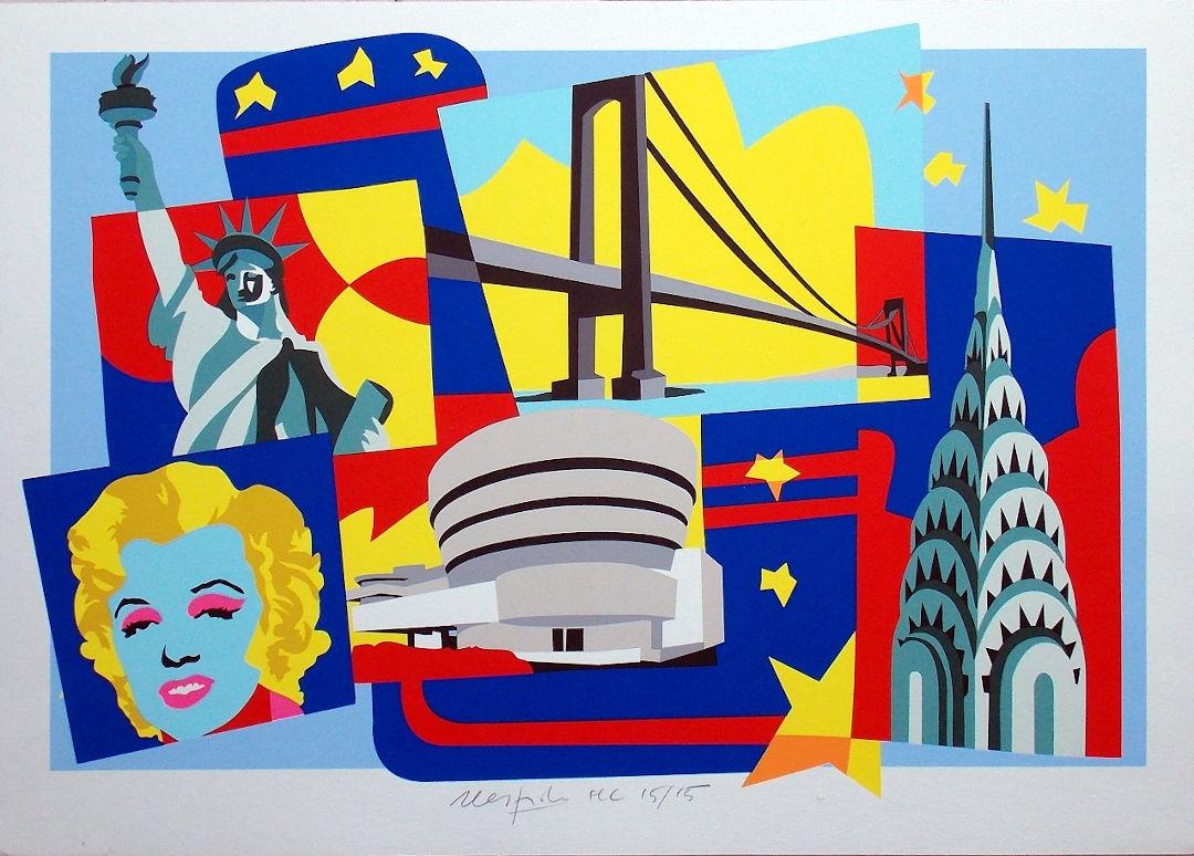 Arte Contemporanea - Ugo Nespolo