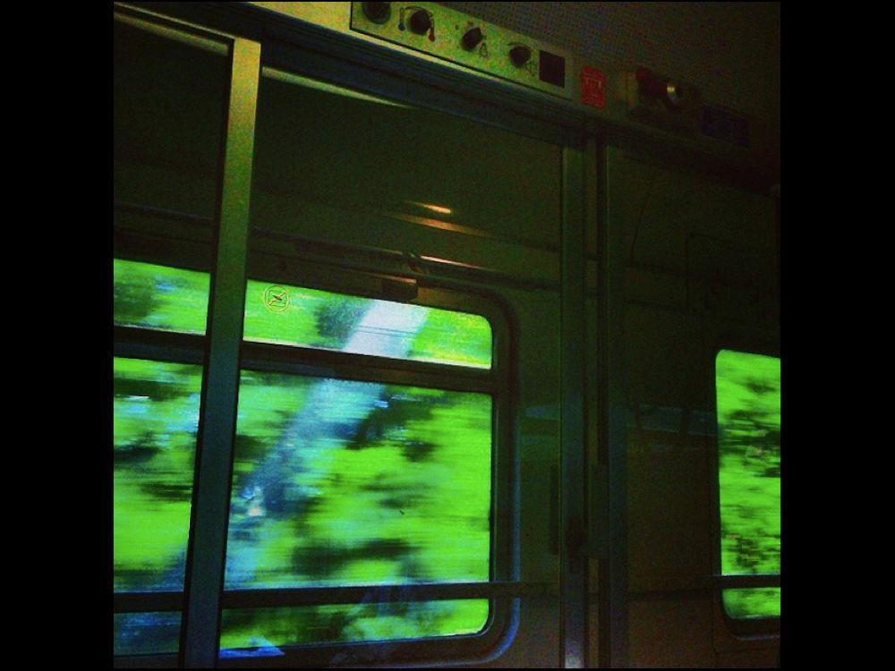 Da un treno in corsa - Rita Marizza