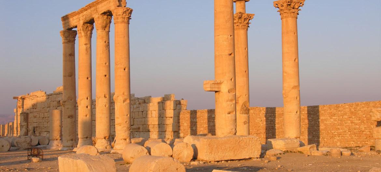 Ciudad de Palmira en Siria fue intervenida por la UNESCO ante el peligro de su destrucción.