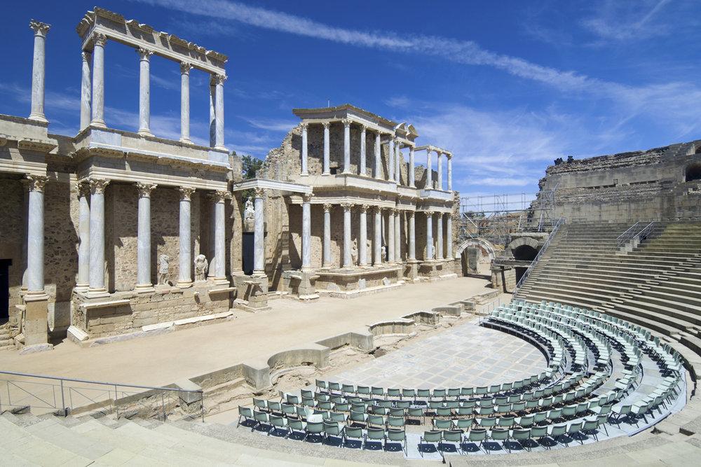 Teatro romano de Mérida (Extremadura)