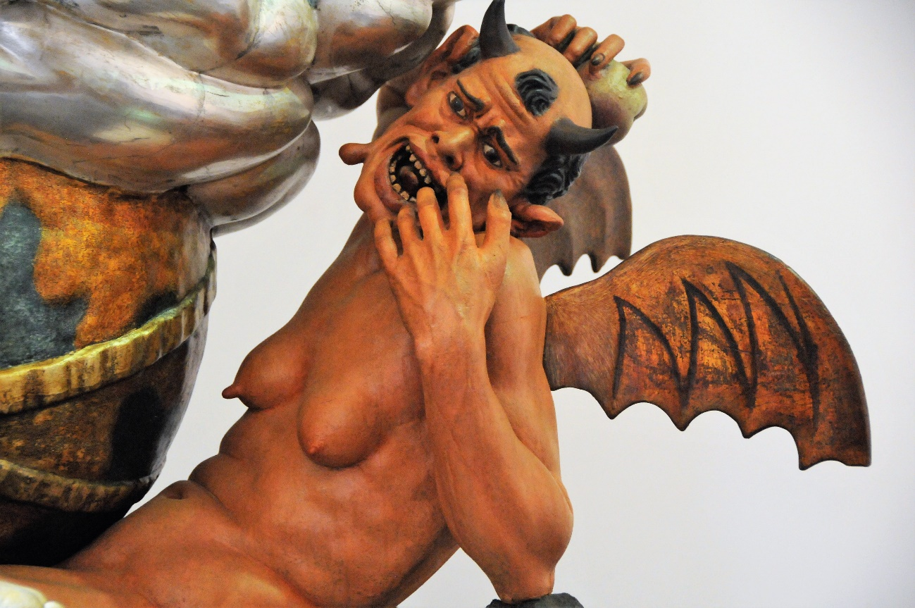 Imagen nº 1: Detalle de La Diablesa. Autora: María del Carmen Portugal Bueno.