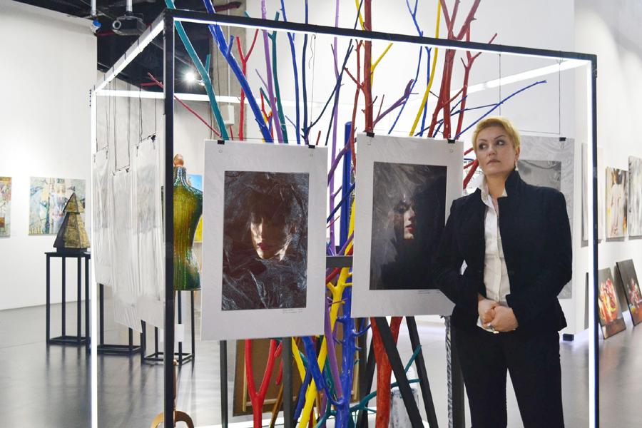"Photo: Anna Bagratuni, Founder and director ""BAGRATUNI ART GALLERY""."